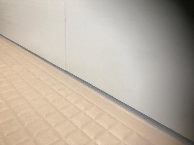 福岡市城南区別府浴室クリーニングコーキング黒カビ作業後