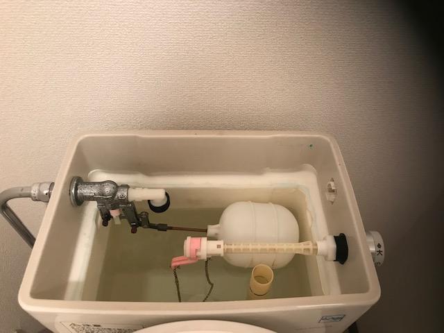 トイレタンク掃除後