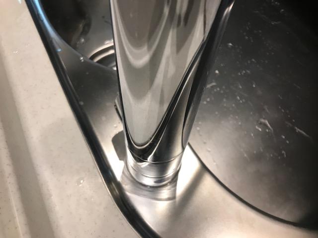 キッチン蛇口掃除後事例①