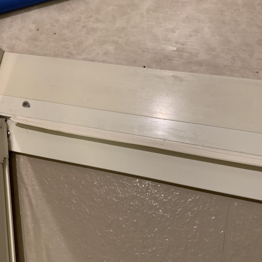 お風呂のドアのカリカリ汚れ掃除後