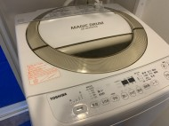東芝洗濯機分解前