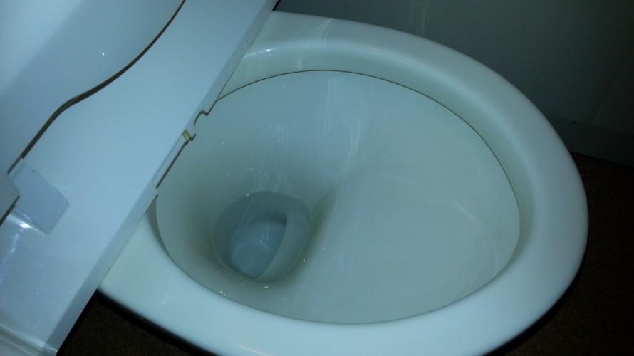 トイレ便器掃除後
