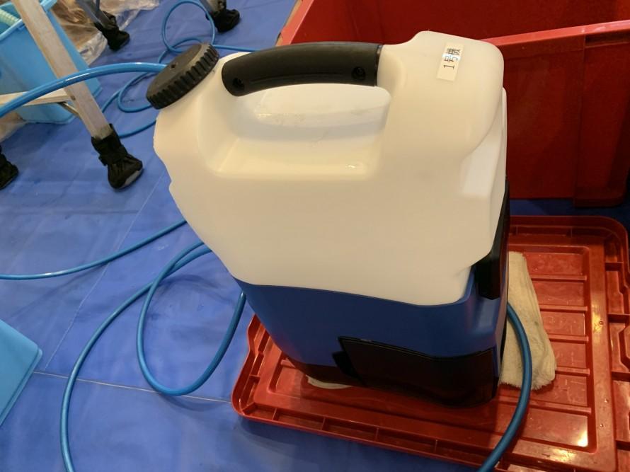 エアコン洗浄用高圧洗浄機