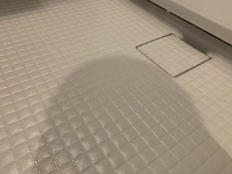 お風呂の床掃除後